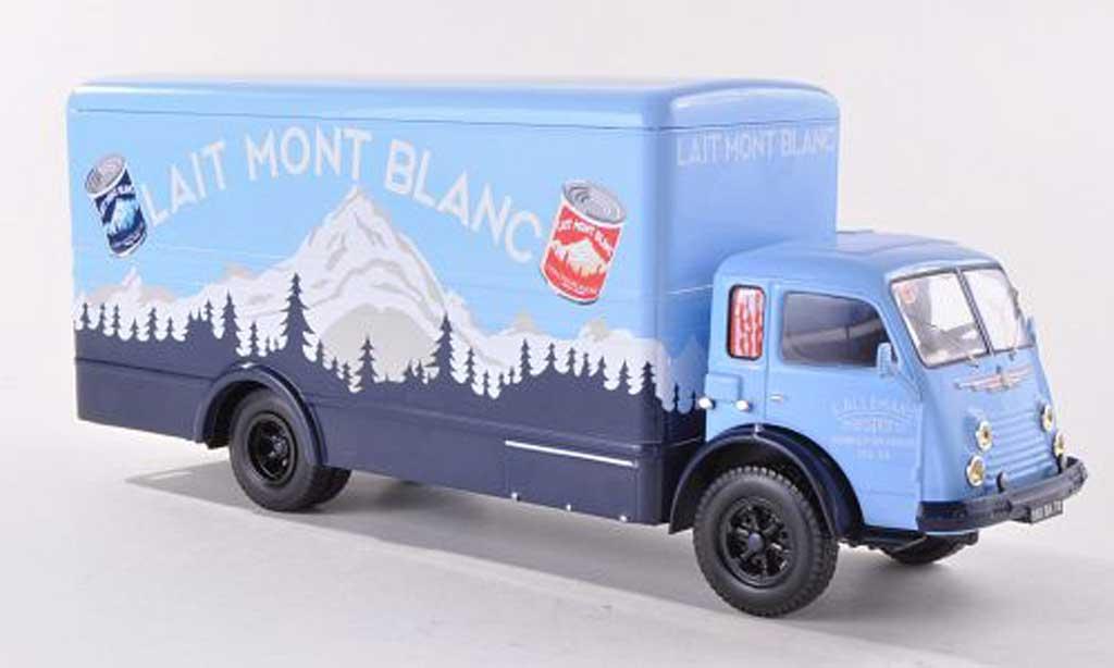 Renault Faineant 1/43 IXO Lait Mont Blanc Koffer-LKW miniature
