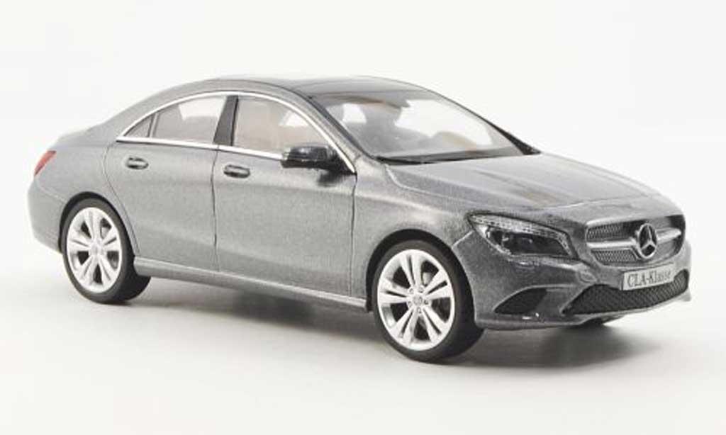 Mercedes CLA 1/43 Schuco (C117) grise 2012 miniature