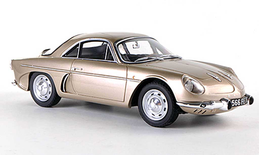 Alpine A108 1/18 Ottomobile Tour De France beige modellino in miniatura