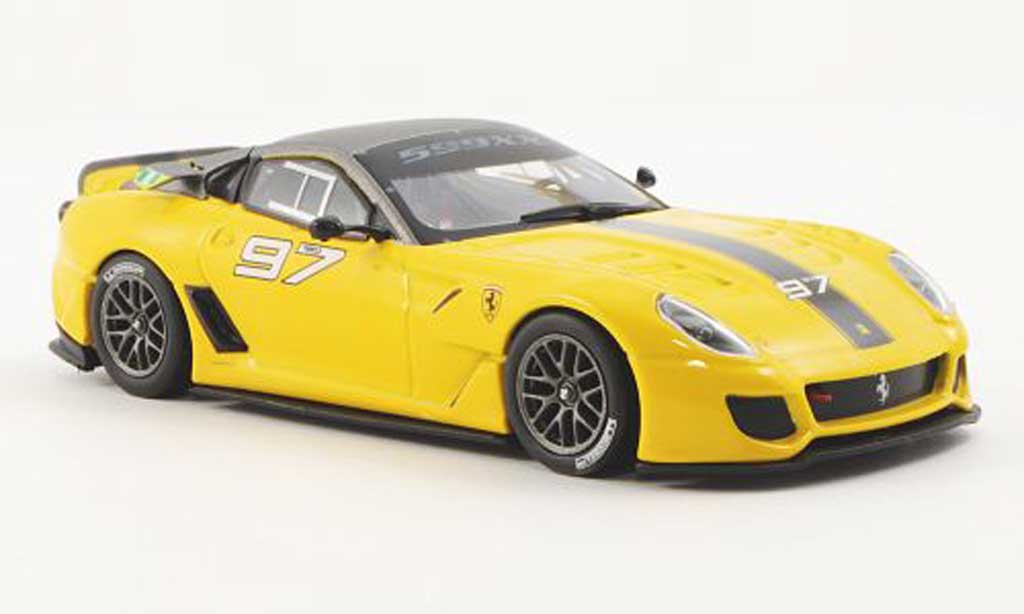 Ferrari 599 XX 1/43 Ferrari Racing Collection No.97 K.Aluko Programme 2010 diecast model cars
