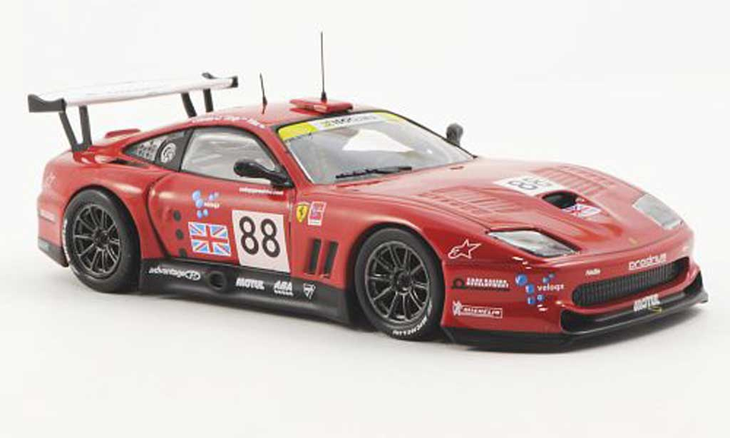 Ferrari 550 Maranello 1/43 Ferrari Racing Collection No.88 Care Racing T.Enge / P.Kox / J.Davies 24h Le Mans 2003 miniature