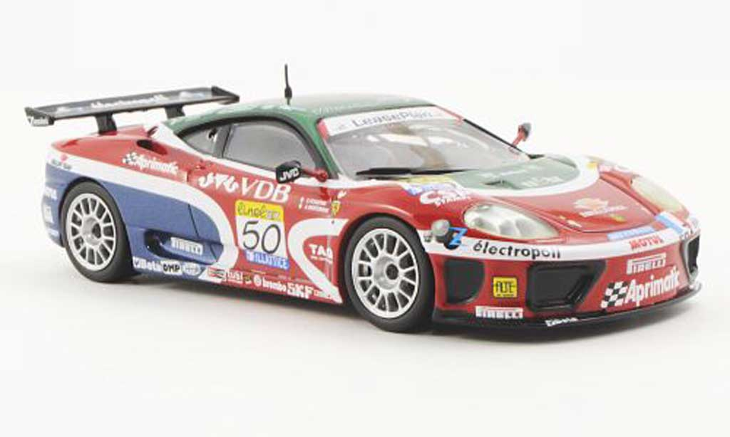 Ferrari 360 Modena 1/43 Ferrari Racing Collection GT No.50 M8 Racing C.Pescatori / A.Montermini FIA GT Silverstone 2002 miniature