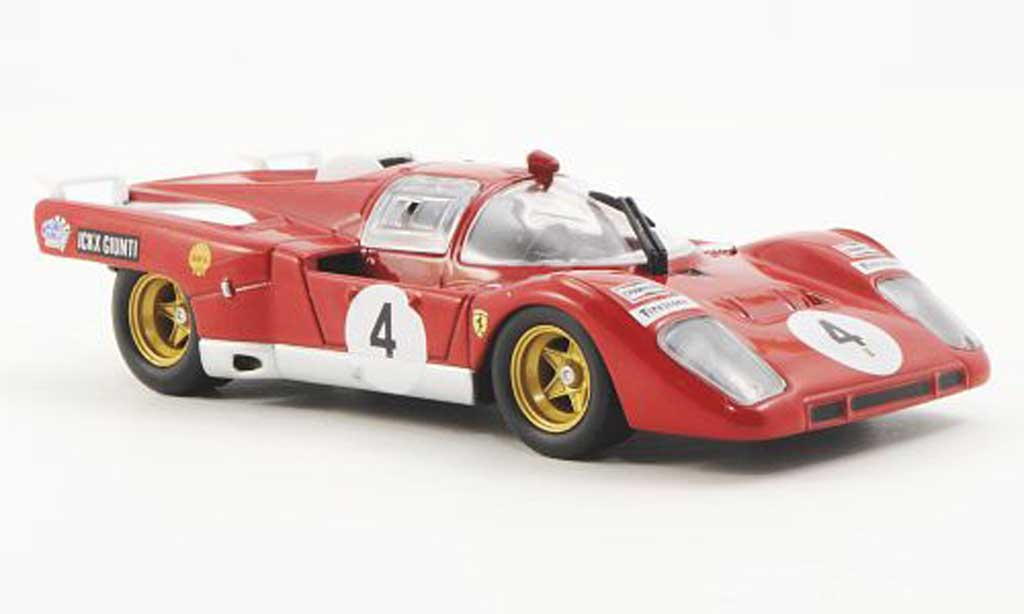 Ferrari 512 M 1/43 Ferrari Racing Collection No.4 J.Ickx / I.Giunti 9h Kyalami 1970 miniatura