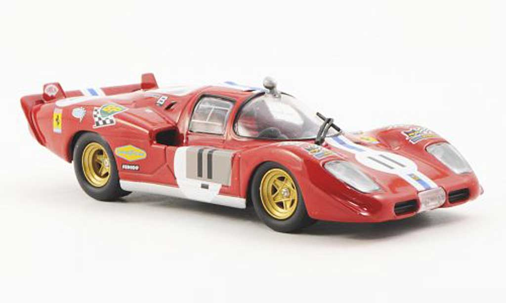 Ferrari 512 S 1/43 Ferrari Racing Collection No.11 N.A.R.T. S.Posey / R.Bucknum 24h Le Mans 1970 miniatura