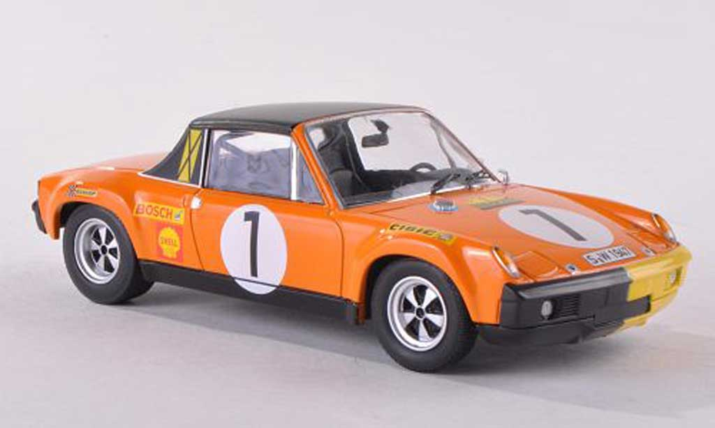 Porsche 914 1/43 Schuco /6 No.1 Marathon de la route 1970 miniature