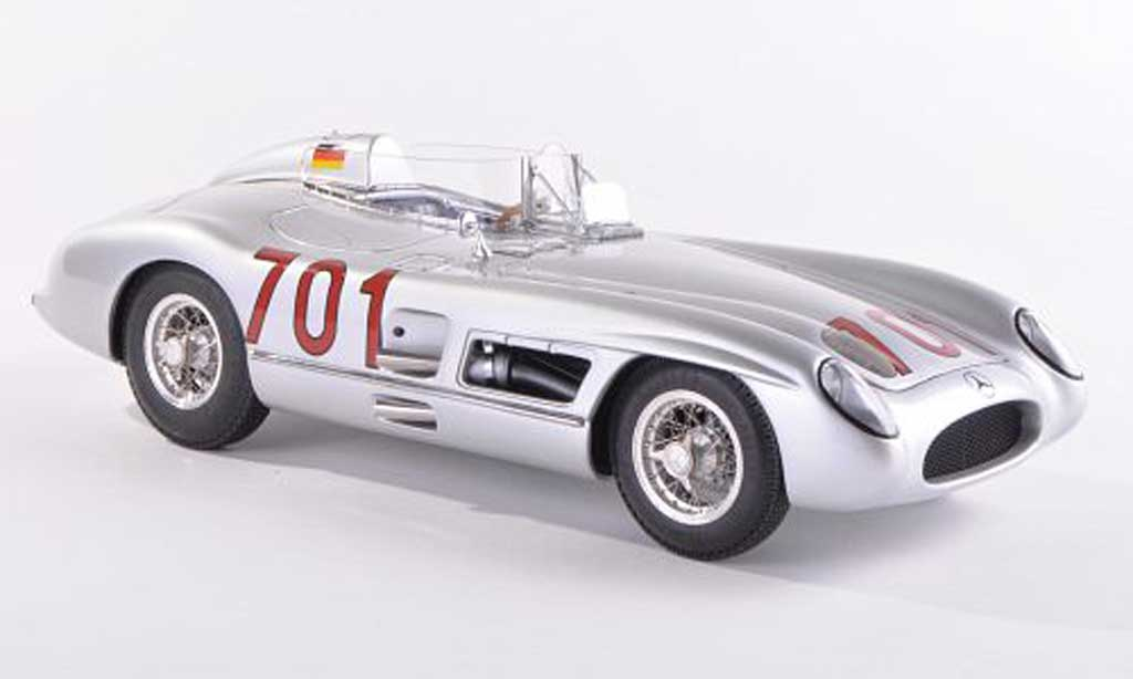 Mercedes 300 SLR 1/43 CMC No.701 Mille Miglia 1955 K.Kling miniature