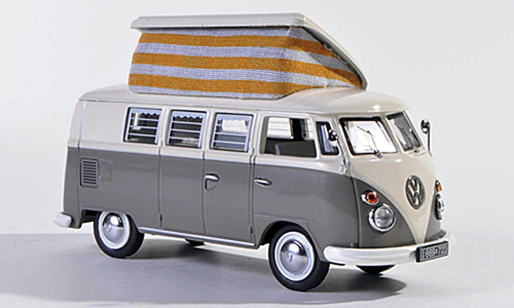 Volkswagen T1 1/43 Schuco Campingbus grey/white