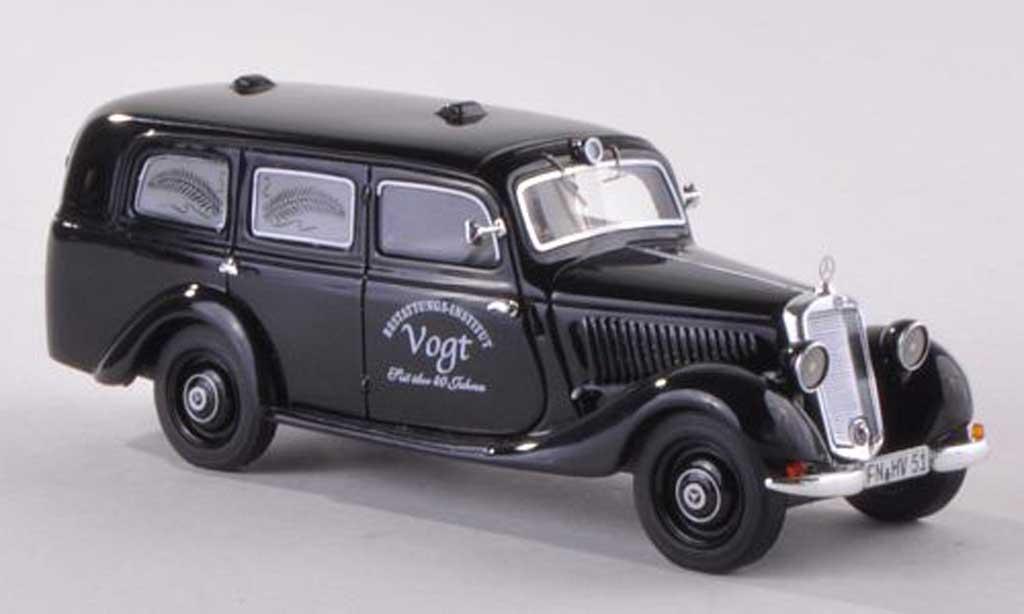 Mercedes 170 1/43 Schuco ProR V Corbillard Vogt miniature