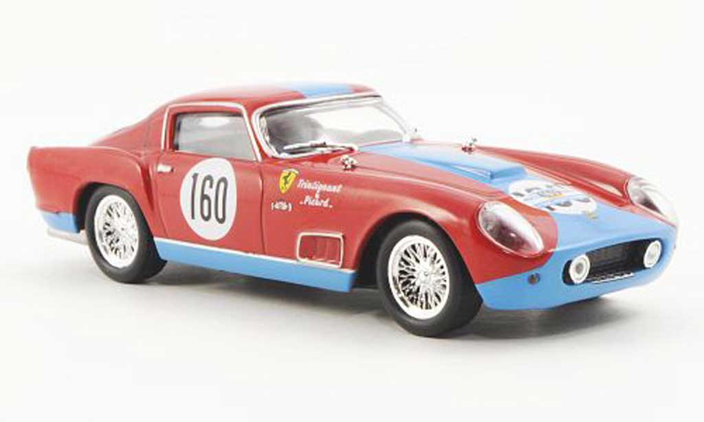 Ferrari 250 GT 1958 1/43 Ferrari Racing Collection Berlinetta TdF Tour de France F.Picard / M.Trintignant miniatura