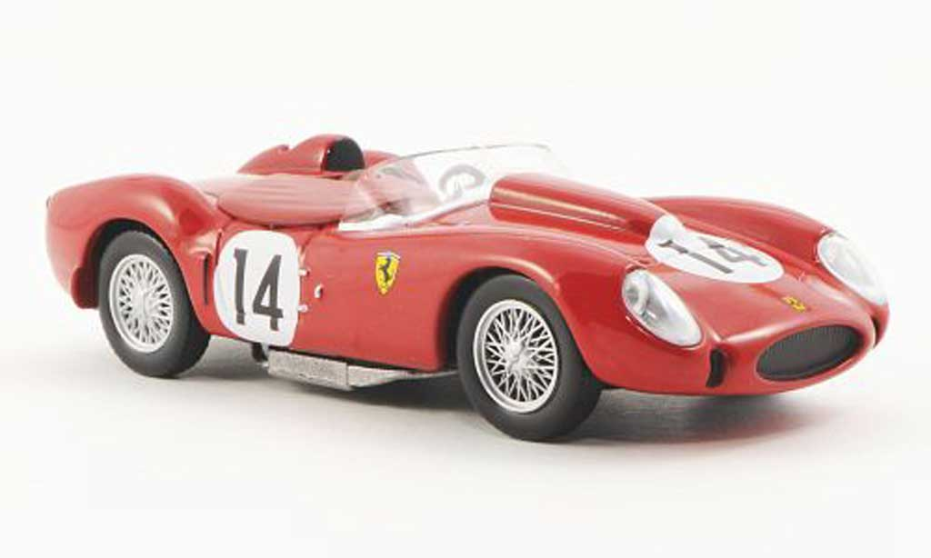 Ferrari 250 TR 1958 1/43 Ferrari Racing Collection 24h Le Mans O.Gendebien / P.Hill miniature