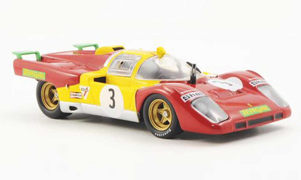 Ferrari 512 M 1/43 Ferrari Racing Collection 6h Brands Hatch J.Juncadella / D.Hobbs 1971 miniatura