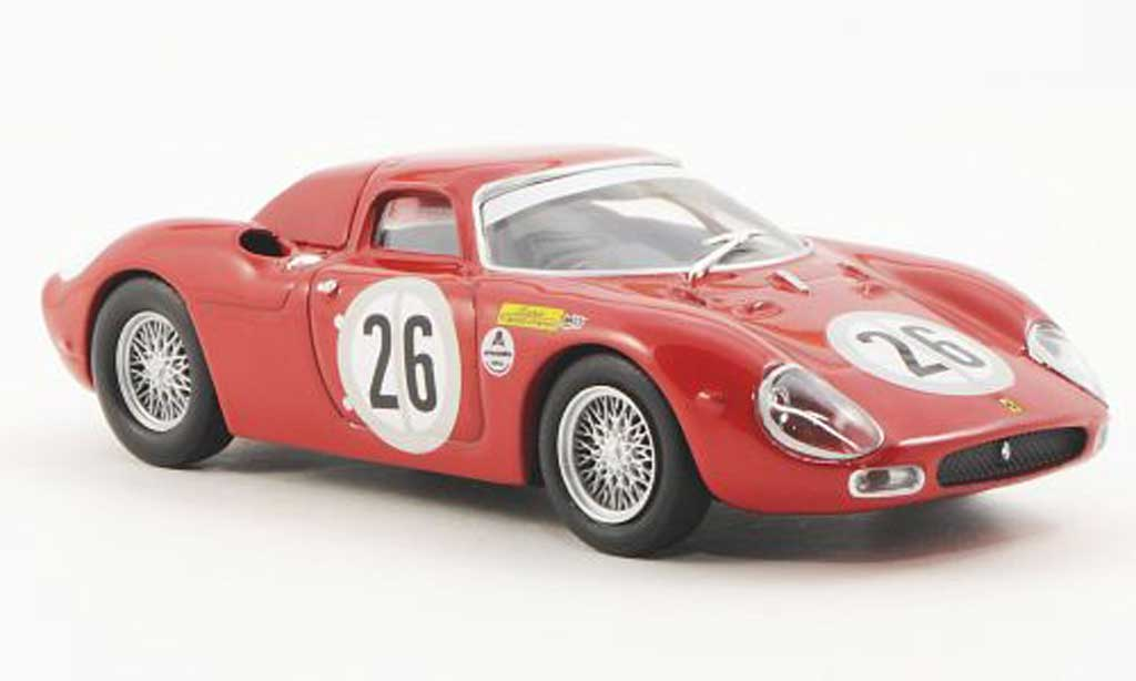 Ferrari 250 LM 1966 1/43 Ferrari Racing Collection 24h Daytona J.Ichx / L.Dernier miniature