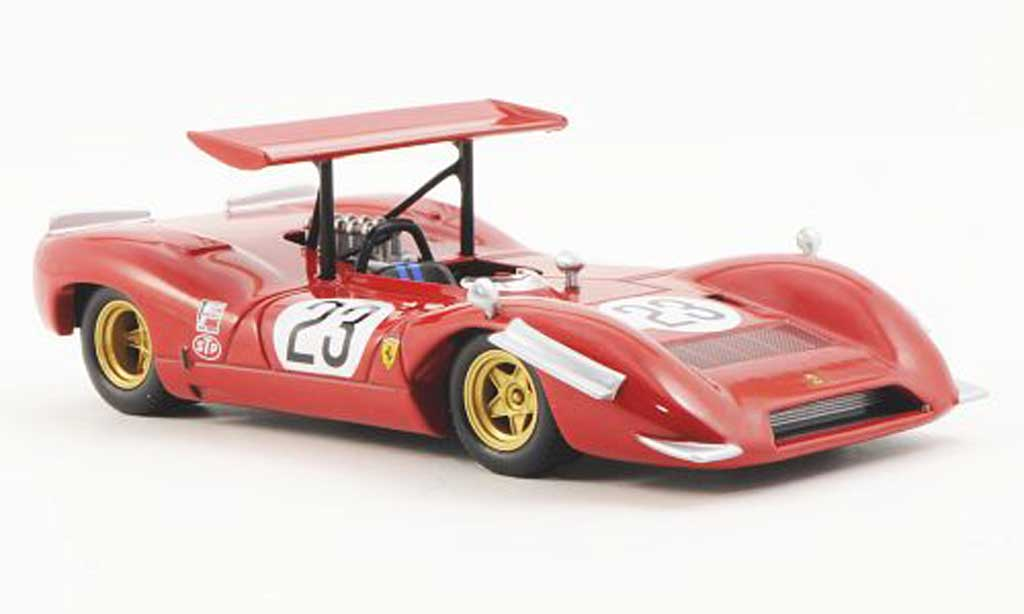 Ferrari 612 1/43 Ferrari Racing Collection Can Am Las Vegas Grand Prix C.Amon 1968 diecast model cars