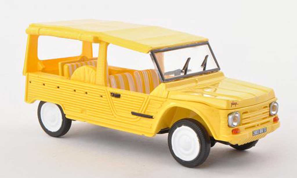 Citroen Mehari 1/43 Solido Plage yellow 1979 diecast model cars