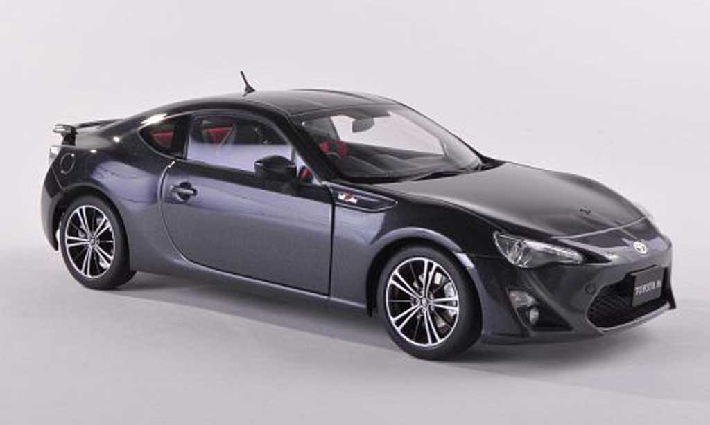 Toyota 86 2012 1/43 Autoart GT Limited (Asian Version/RHD) noire-gris