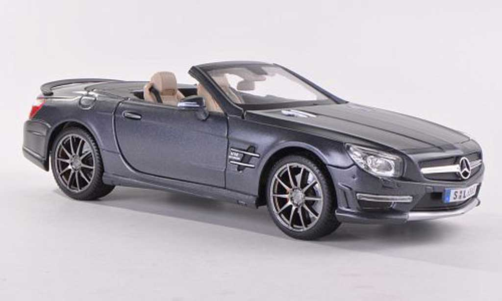 Mercedes Classe SL 65 1/18 Maisto 65 AMG (R231) mattanthrazit 2012 miniature