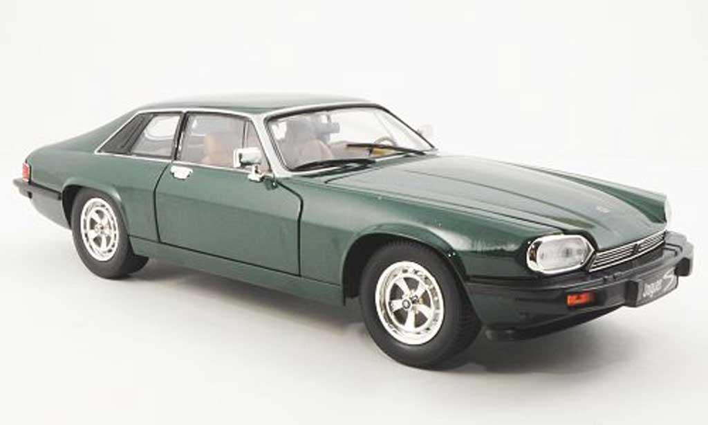 Jaguar XJS 1975 1/18 Yat Ming grun LHD diecast model cars