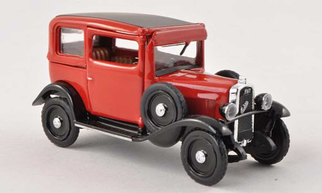 Fiat 508 1/43 Rio Balilla red/black 1932 diecast model cars