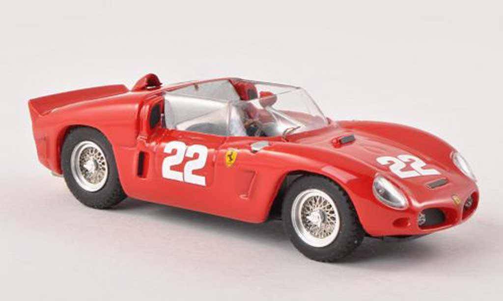 Ferrari 246 1/43 Art Model Dino SP No.22 vehicule de test 24h Le Mans 1961 Von Trips/Hill/Mairesse miniature