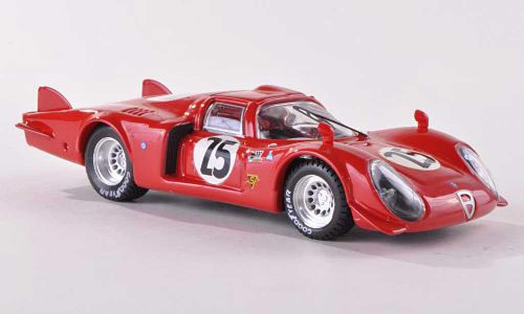 Alfa Romeo 33.3 1969 1/43 Best Coupe No.25 Daytona Dibos/Chappuis/Calabattisti miniature