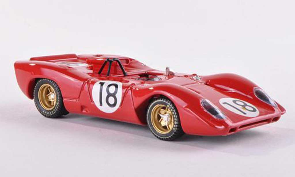 Ferrari 312 P 1/43 Best Spyder No.18 Le Mans Test  1967 Brambilla/Schetty miniature