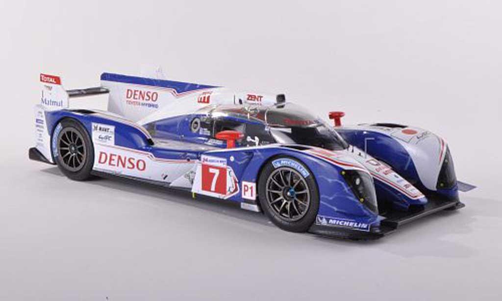 Toyota TS030 1/43 Spark hybride No.7 Dense 24h Le Mans 2012A.Wurz/N.Lapierre/K.Nakajima miniature