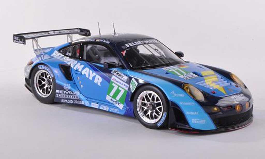 Porsche 997 GT3 RSR 1/43 Spark 2012 No.77 Felbermayr 24h Le Mans W.Henzler/M.Lieb/R.Lietz diecast model cars