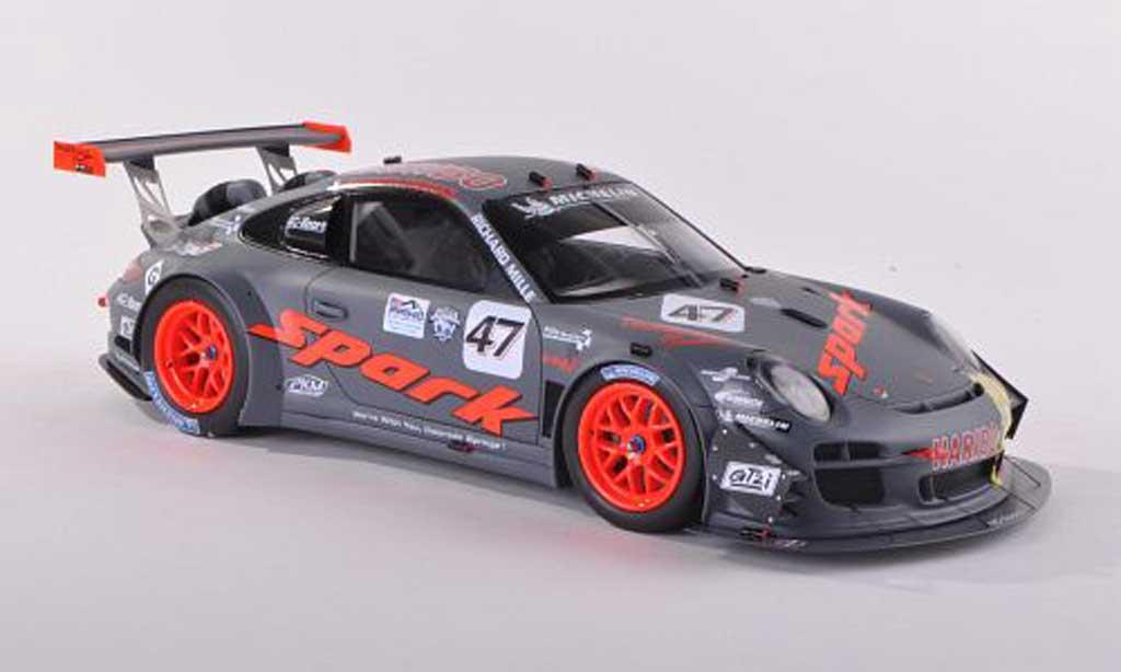 Porsche 997 GT3 1/43 Spark R 2012 No.47 Spark/Haribo Pikes Peak R.Dumasporsche_ porsche__gt3_r diecast model cars