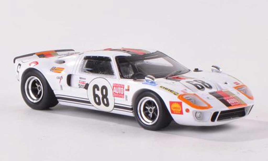 Ford GT40 1/43 Spark GT 40 No.68 Deutsche AUTO Zeitung 24h Le Mans 1969 H.Kelleners/R.Joest diecast model cars