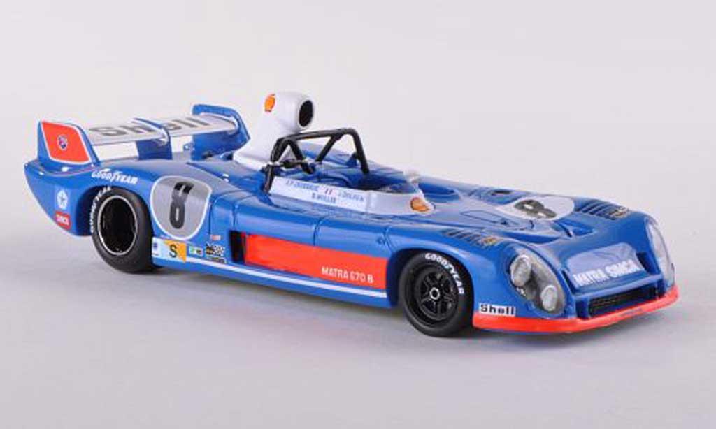 Matra MS670B 1/43 Spark No.8 Gitanes 24h Le Mans 1974 B.Wollek/J.P.Jaussaud/J.Dolhem miniature