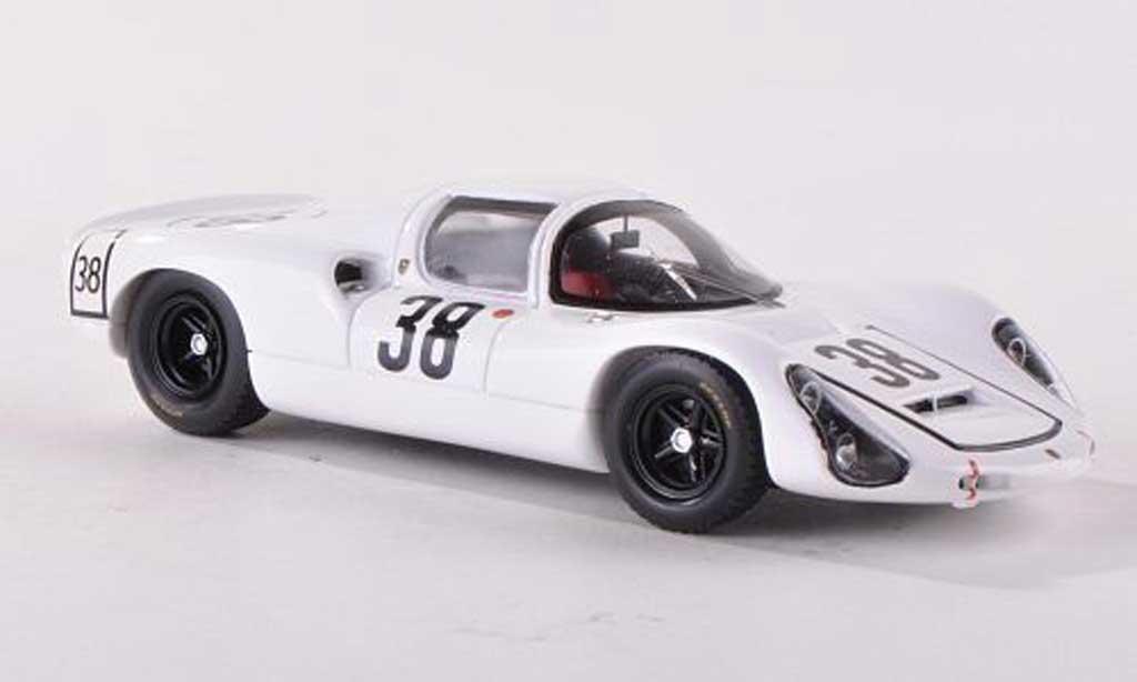 Porsche 910 1967 1/43 Spark No.38 J.Neerpasch/R.Stommelen 24h Le Mans miniature