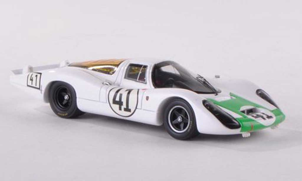 Porsche 907 1967 1/43 Spark No.41 24h Le Mans H.Herrmann/J.Siffert miniature