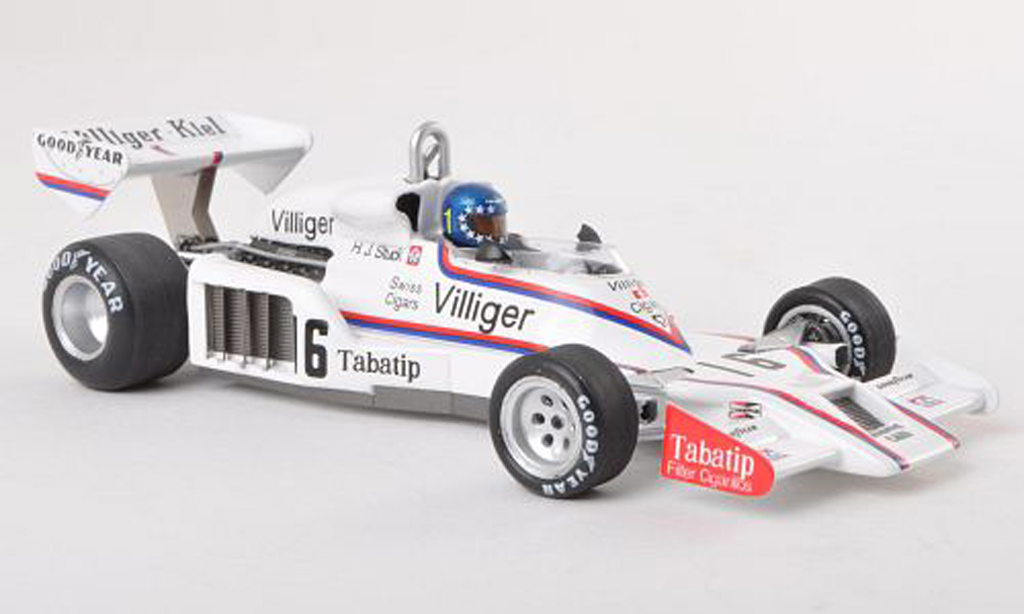 Shadow DN8 1978 1/43 Spark No.16 Villiger-Kiel GP Brazilien H.Stuck miniature