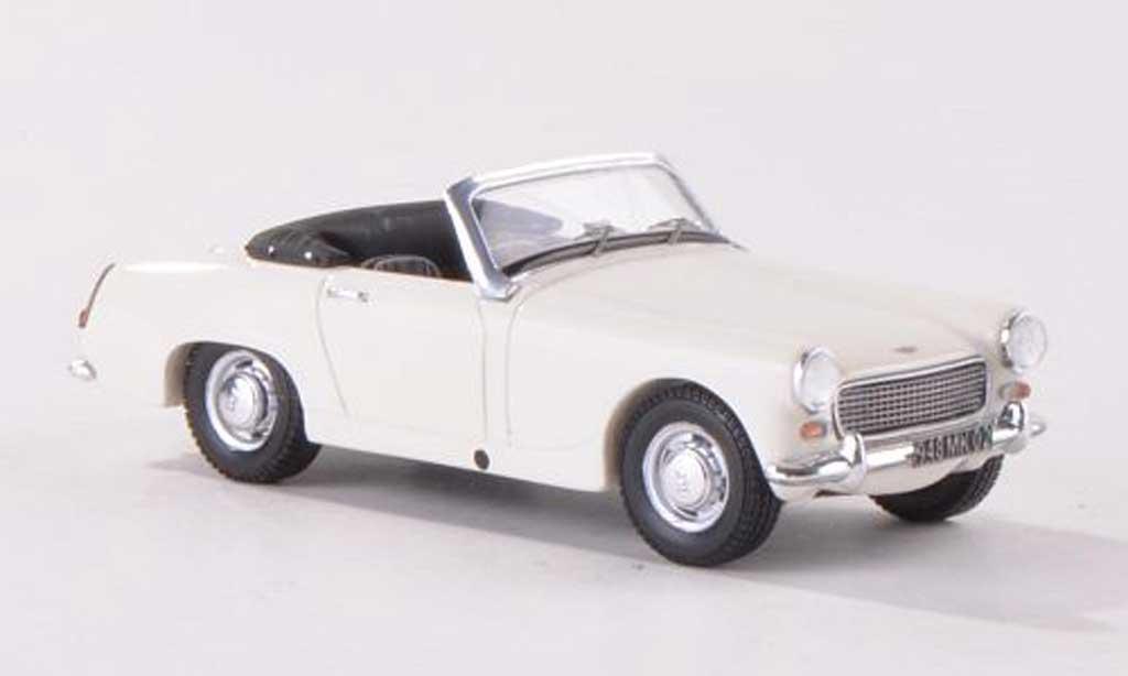 Austin Healey Sprite 1/43 Spark MK2 blanche LHD  miniature