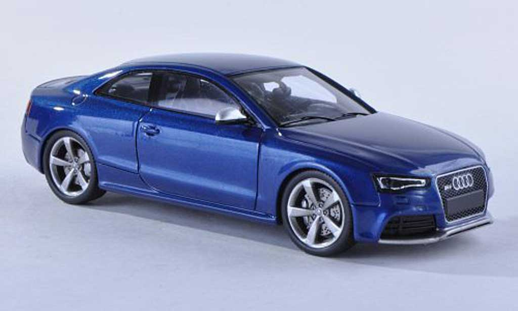 audi rs5 coupe blau 2012 spark modellauto 1 43 kaufen verkauf modellauto online. Black Bedroom Furniture Sets. Home Design Ideas