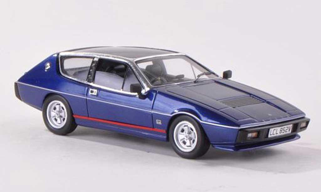 Lotus Elite 1/43 Spark S2 Essex bleue RHD 1980 miniature