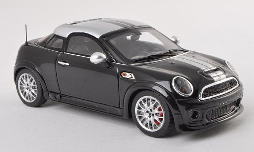 Mini Coupe JCW 1/43 Spark noire/grise 2012 miniature