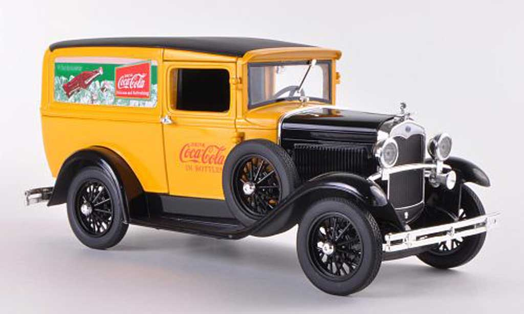 Ford Delivery 1/18 Signature Van Coca-Cola 1931 miniature