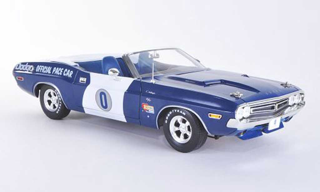 Dodge Challenger 1971 1/18 Greenlight Ontario Motor Speedway Pace Car miniature
