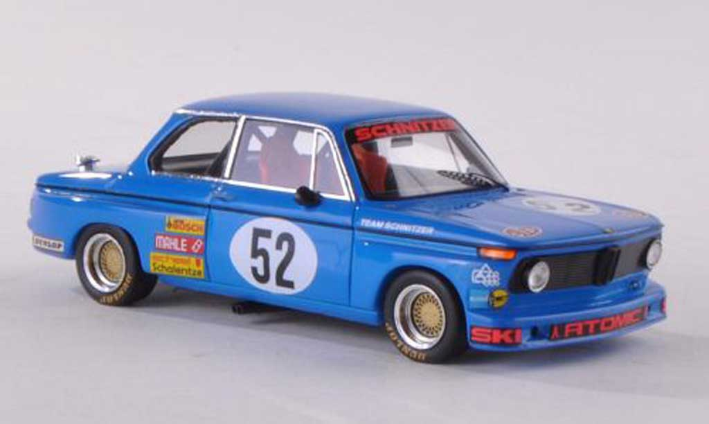 Bmw 2002 Tii 1/43 Spark No.52 Atomic DRM  1974 W.May miniature
