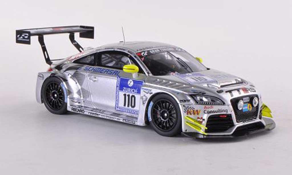 Audi TT RS 1/43 Spark No.110 24h Nurburgring 2012 T.Sluis/H.Schmersal/C Tiger/P.Kaiser miniature