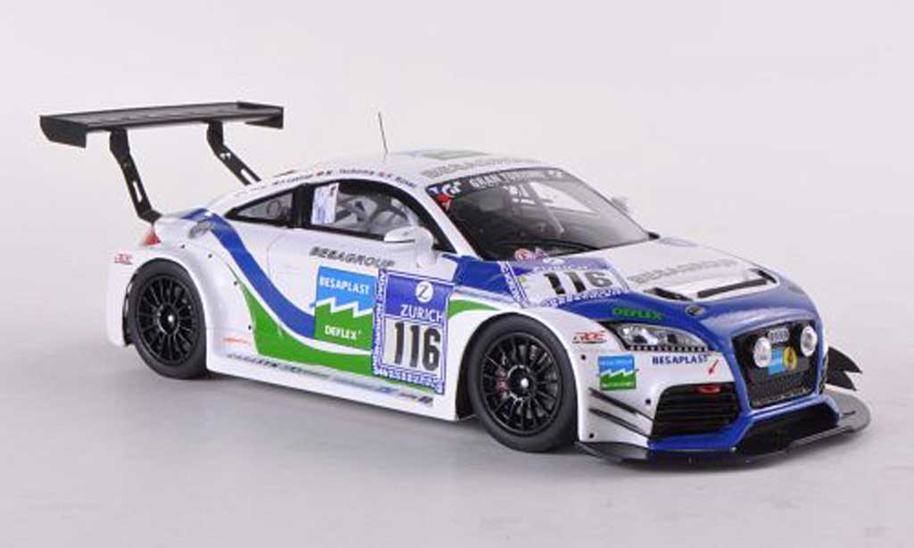 Audi TT RS 1/43 Spark No.116 Besaplast 24h Nurburgring 2012 F.Kovac/M.Tschornia/F.Lesturp/K.Thiim miniature