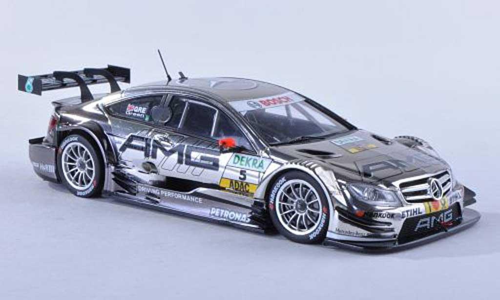 Mercedes Classe C DTM 1/43 Spark C-Coupe No.5 AMG -Saison 2012 J.Green miniature