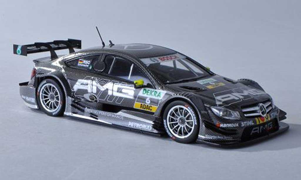 Mercedes Classe C DTM 1/43 Spark C-Coupe No.6 AMG -Saison 2012 R.Schumacher miniature