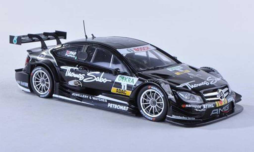 Mercedes Classe C DTM 1/43 Spark C-Coupe No.11 Thomas Sabo -Saison 2012 G.Paffett miniature
