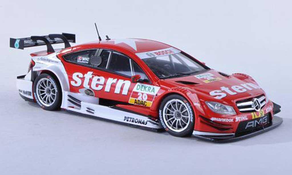 Mercedes Classe C DTM 1/43 Spark C-Coupe No.20 Stern -Saison 2012 R.Wickens miniature