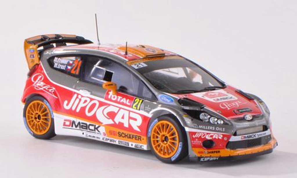 Ford Fiesta WRC 1/43 Spark  No.21 JiPO Car Rally Monte Carlo  2013 M.Prokop/M.Ernst miniature