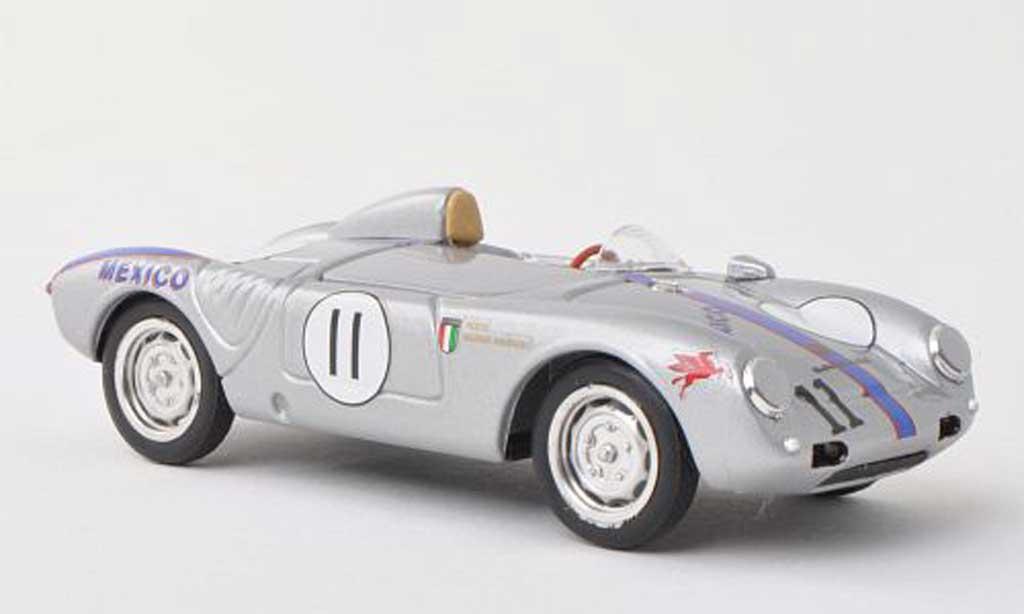 Porsche 550 1957 1/43 Brumm A  Spyder No.11 Riverside  R.Rodriguez miniature