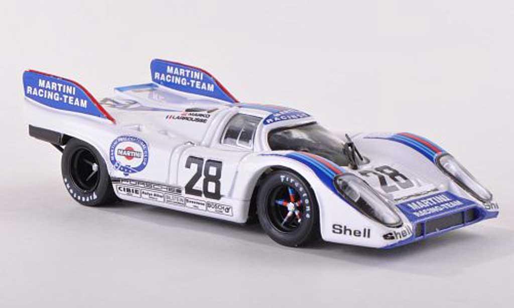 Porsche 917 1971 1/43 Brumm K No.28 Martini Racing Team 1000km Austria Marko/Larrousse diecast model cars