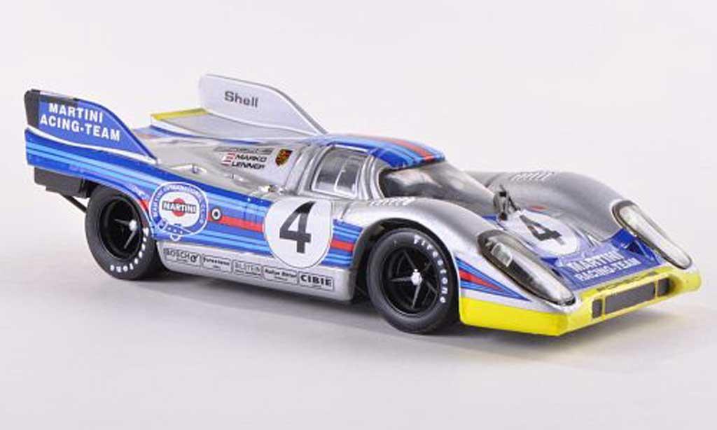 Porsche 917 1971 1/43 Brumm K No.4 Martini Racing Team 1000km Monza Marko/von Lennep miniature